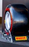 Pneumatic tires Pirelli Royalty Free Stock Photo