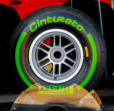 Pneumatic tires Pirelli Royalty Free Stock Images