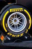 Pneumatic tires Pirelli Royalty Free Stock Image