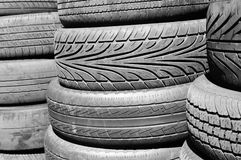 Pneumatic tyres Royalty Free Stock Image