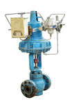 Pneumatic valve. Royalty Free Stock Photography