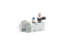 Pneumatic valve Stock Image