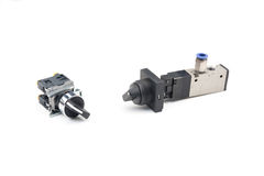 Pneumatic valve Stock Photo