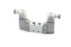 Pneumatic valve Royalty Free Stock Photo
