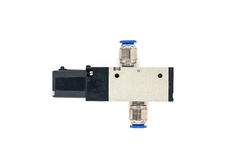 Pneumatic valves Royalty Free Stock Photo