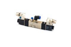 Pneumatic valves Royalty Free Stock Image
