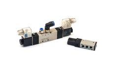 Pneumatic valves Royalty Free Stock Photos