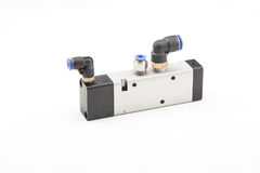 Pneumatic valves Stock Image