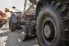 Pneumatic wheel Royalty Free Stock Photo