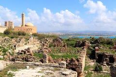 Pneumatico, Libano Fotografia Stock