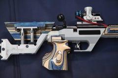 Pneumatisch luchtgeweer stock foto's