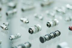 Pneumatische Adapter Lizenzfreie Stockbilder