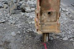 Pneumatische hamer Stock Afbeeldingen