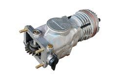 Pneumatisk kompressor för bromsen arkivbilder