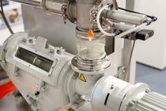 Pneumatyczny żywieniowy system dla polypropylene wyrek dla extruder maszyn obraz royalty free