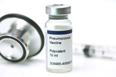 Pneumococcal εμβόλιο Στοκ φωτογραφία με δικαίωμα ελεύθερης χρήσης
