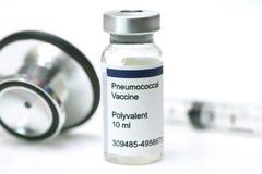 Pneumococcal vaccin royaltyfri fotografi