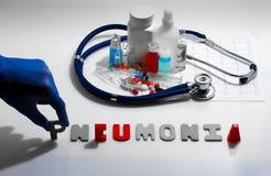 pneumonia fotografia de stock royalty free