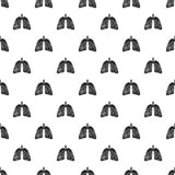 Pneumonia lungs pattern seamless vector. Repeat geometric for any web design vector illustration