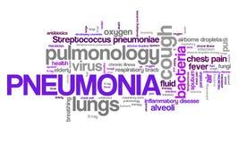 Pneumonia Royalty Free Stock Images