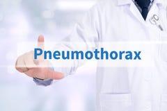 Pneumothorax Royalty Free Stock Photos