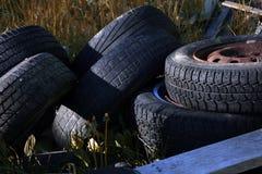 pneus Fotografia de Stock