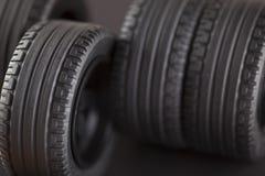 pneus Photographie stock