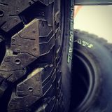 pneus Imagem de Stock