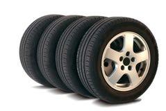 4 pneus d'été Photographie stock libre de droits