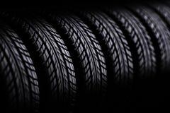 pneus 3d Photo libre de droits