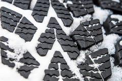 Pneus da lama e de neve fotos de stock