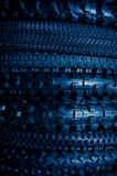 Pneus de bicyclette Image stock