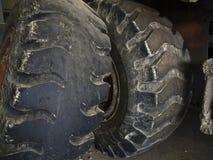 Pneus de tracteur Photo libre de droits