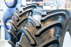 Pneus do trator, pneumáticos da borracha da maquinaria agrícola Imagem de Stock Royalty Free