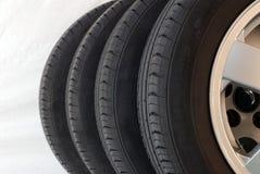 4 pneus do verão Foto de Stock Royalty Free
