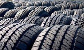 Pneus, pneus, pneus foto de stock