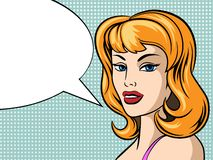 PNF Art Woman Face ilustração royalty free