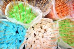 PNF colorido do gelo em um saco de plástico Foto de Stock