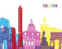 PNF da skyline da Bolonha ilustração stock
