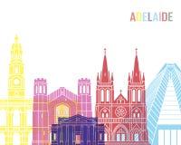 PNF da skyline de Adelaide V2 imagem de stock
