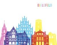 PNF da skyline de Bielefeld Foto de Stock Royalty Free