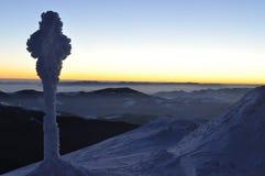 PNF Ivan da montagem no cume montenegrino Fotos de Stock Royalty Free
