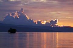 Png : Coucher du soleil de Tokua Photographie stock libre de droits