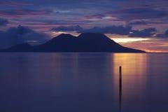 Png: Puesta del sol de Tokua Foto de archivo libre de regalías