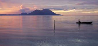 PNG: Tokua solnedgång royaltyfria bilder
