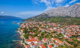 Péninsule de Peljesac, Croatie Image stock