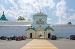 Północne Catherine ` s bramy Święta trójca Ipatyevsky Monaster Zdjęcia Royalty Free