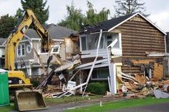 Północnoamerykańska domowa rozbiórka Fotografia Stock