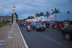 Pnom Penh,柬埔寨 免版税库存图片