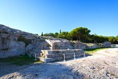 Pnyx van Athene Stock Foto